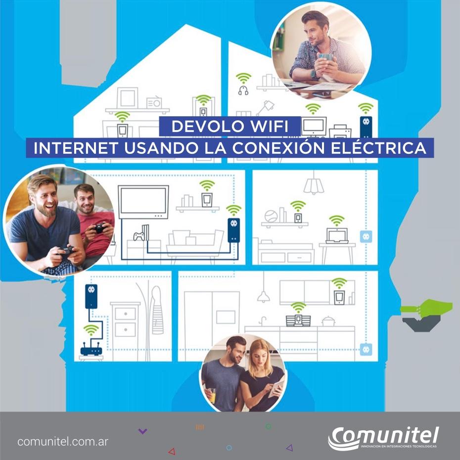 Wifi estable y veloz por el cableado eléctrico
